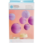 Martha Stewart Accordion Lantern, Purple
