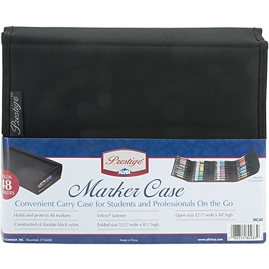 Blue Hills Studio Prestige 48 Piece Marker Case, Black