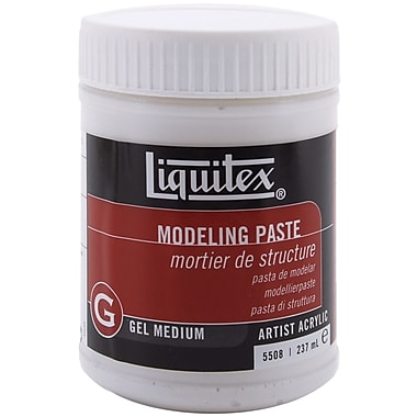 Reeves Liquitex Non-toxic 8 oz. Modeling Paste Acrylic Gel Medium (MP5508)