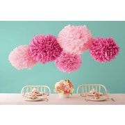 Martha Stewart Celebrate Decor Pom Poms, Pink