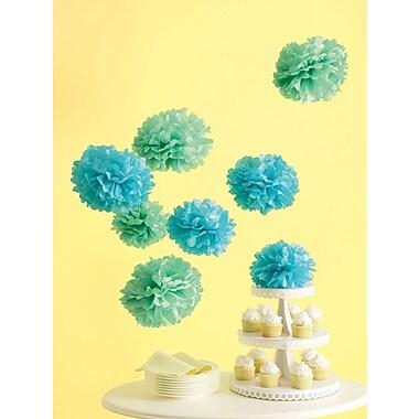 Martha Stewart Celebrate Decor Pom Poms, Blue