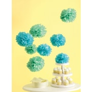 Martha Stewart Celebrate Decor Pom Poms, Blue