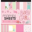 MAMBI® Baby Girl Animals Specialty Cardstock, 12in. x 12in.
