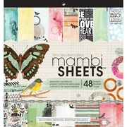 MAMBI® Mixed Media Specialty Cardstock, 12 x 12