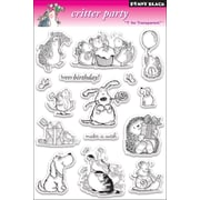 "Penny Black® 5"" x 7 1/2"" Clear Stamp, Critter Party"