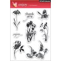 Penny Black® 5in. x 7 1/2in. Clear Stamp, Enjoy
