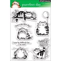 Penny Black® 5in. x 7 1/2in. Clear Stamp, Purrfect Day