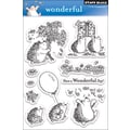 Penny Black® 5in. x 7 1/2in. Clear Stamp, Wonderful