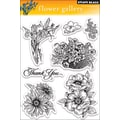 Penny Black® 5in. x 7 1/2in. Clear Stamp, Flower Gallery