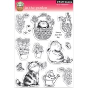 """Penny Black® 5"""" x 7 1/2"""" Clear Stamp, In The Garden"""