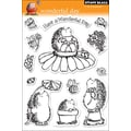 Penny Black® 5in. x 7 1/2in. Clear Stamp, Wonderful Day