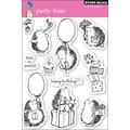 Penny Black® 5in. x 7 1/2in. Clear Stamp, Party Time