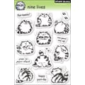 Penny Black® 5in. x 7 1/2in. Clear Stamp, Nine Lives