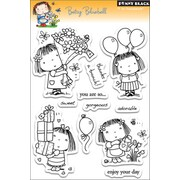 "Penny Black® 5"" x 7 1/2"" Clear Stamp, Betsy Bluebell"