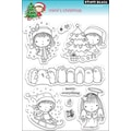 Penny Black® 5in. x 7 1/2in. Clear Stamp, Mimi's Christmas