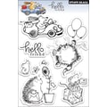 Penny Black® 5in. x 7 1/2in. Clear Stamp, Hello Friend