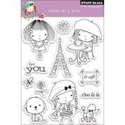 Penny Black® 4 x 6 Clear Stamp, Mimi In Paris