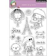 "Penny Black® 4"" x 6"" Clear Stamp, Mimi In Paris"