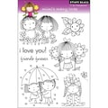 Penny Black® 5in. x 7 1/2in. Clear Stamp, Mimi's Many Loves