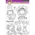 Penny Black® 5in. x 7 1/2in. Clear Stamp, Spring Day