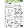 Penny Black® 5in. x 7 1/2in. Clear Stamp, A Little Bird