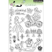 "Penny Black® 5"" x 7 1/2"" Clear Stamp, A Little Bird"