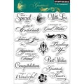Penny Black® 5in. x 7 1/2in. Clear Stamp, Gratitude