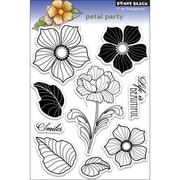"Penny Black® 5"" x 7 1/2"" Clear Stamp, Petal Party"