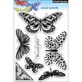 Penny Black® 5in. x 7 1/2in. Clear Stamp, Social Butterfly