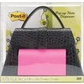 3M™ Post-It® Pop Up 3in. x 3in. Notes Dispenser, 50/Pack, Black Purse