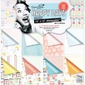 Docrafts® Papermania Happy Days Designstax™ Paper Pad, 12in. x 12in., 48/Pack