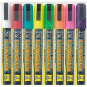 Zig Illumigraph 8 Piece Broad Tip Markers Set
