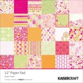 Kaisercraft Single Sided 160gsm Sweet Treats Paper Pad, 12in. x 12in.