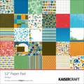 Kaisercraft Single Sided 160gsm Oh Boy! Paper Pad, 12in. x 12in.