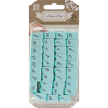 Prima Marketing 1/4in. Alphabet Stamp Set, Characters-#1