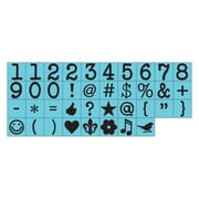 "Prima Marketing 1/4"" Alphabet Stamp Set, Characters-#4"