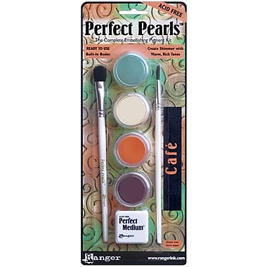 Ranger Perfect Pearls™ Pigment Powder Kits, Cafe