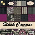 Diecuts With A View® Black Currant Paper Stack, 12in. x 12in., 48/Pack