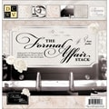 Diecuts With A View® Formal Affair Paper Stack, 12in. x 12in., 48/Pack