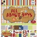 Diecuts With A View® All About Boys 2 Paper Stack, 12in. x 12in., 48/Pack