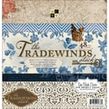 Diecuts With A View® Tradewinds Paper Stack, 12in. x 12in., 48/Pack