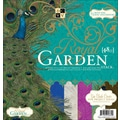 Diecuts With A View® Royal Garden Paper Stack, 12in. x 12in., 48/Pack
