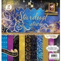 Diecuts With A View® Stardust Paper Stack, 12in. x 12in., 48/Pack