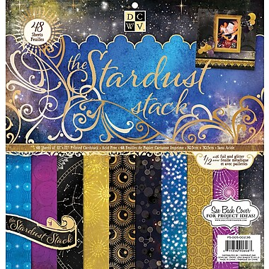 Diecuts With A View® Stardust Paper Stack, 12