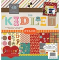 Diecuts With A View® Kidlet Paper Stack, 12in. x 12in., 48/Pack