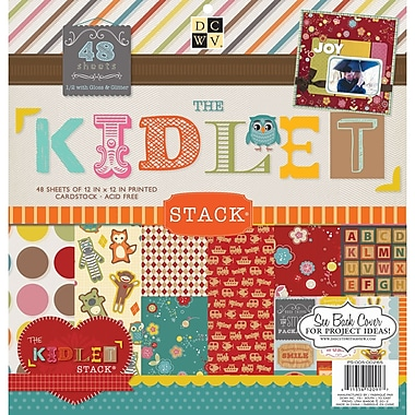 Diecuts With A View® Kidlet Paper Stack, 12