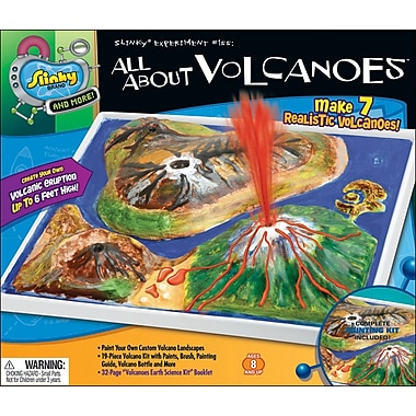 Poof Slinky® All About Volcanoes Kit