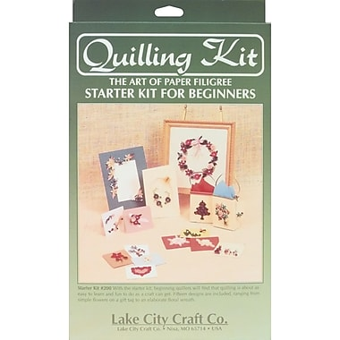 Lake City Craft Quilling Starter Kit