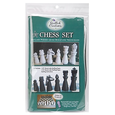 Quilled Creations Quilling Kit, in.Chess Setin.