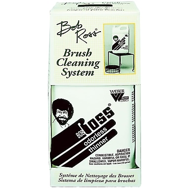 Martin/ F. Weber® Bob Ross Brush Cleaning System